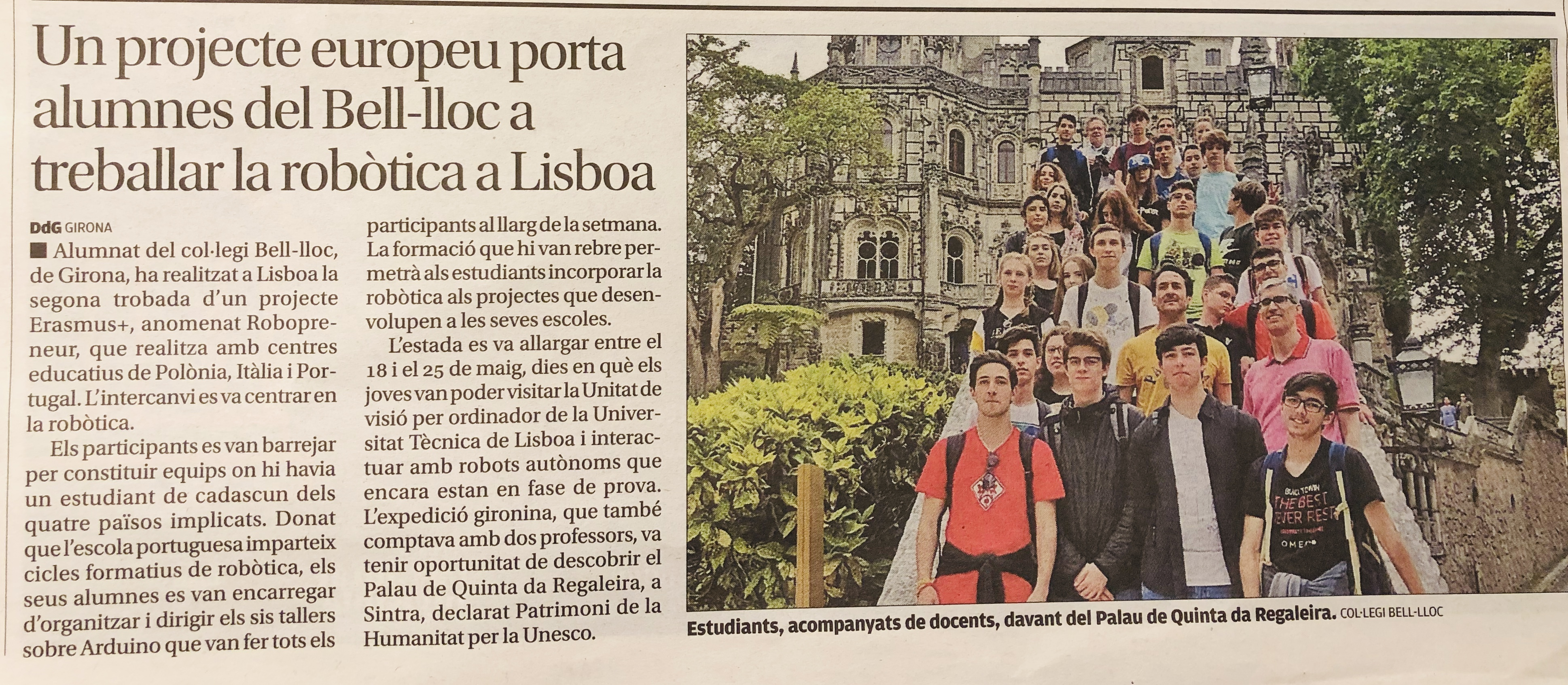 Project diffusion in Spain